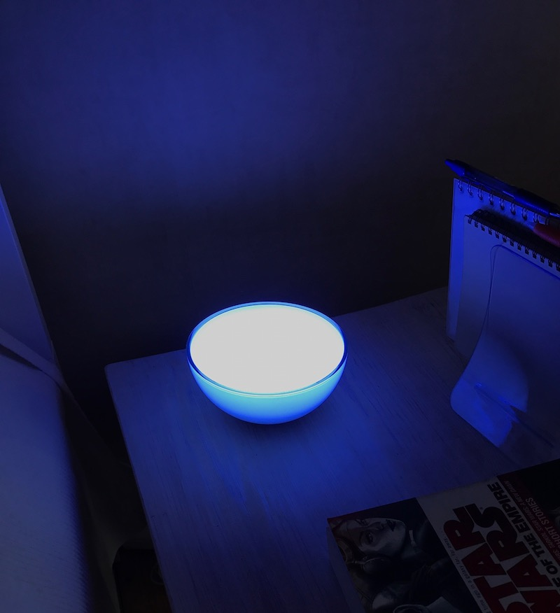 Hue go on bedstand
